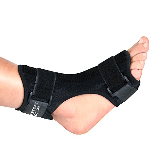 Everyday Medical Plantar Fasciitis Night Splint - Dorsal Night Splint for Plantar Fasciitis - Ergonomic Arch Foot Stretching Support with Bendable Bar - for Achilles Tendonitis, Heel Pain & Drop Foot by Everyday Medical (Image #9)