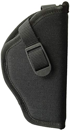 Uncle Mike's Black Kodra Nylon Sidekick Hip Holster (Size 2, Right-Hand)