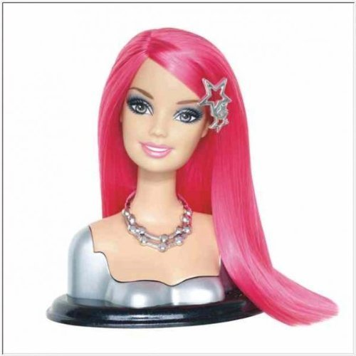 barbie styling head large - 2