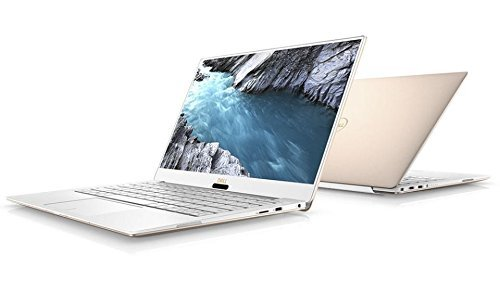 13.3' Widescreen Notebook Computer - Dell Latest 2018 XPS 9370 Laptop, 13.3in UHD (3840 x 2160) InfinityEdge Touch Display, 8th Gen i7-8550U, 8GB RAM, 256 GB SSD Windows 10, Rose Gold (Renewed)