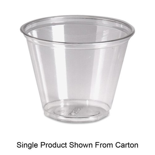 - 9 oz Cold Plastic Drink Cups in Clear Pack Size: 1000 (Carton)