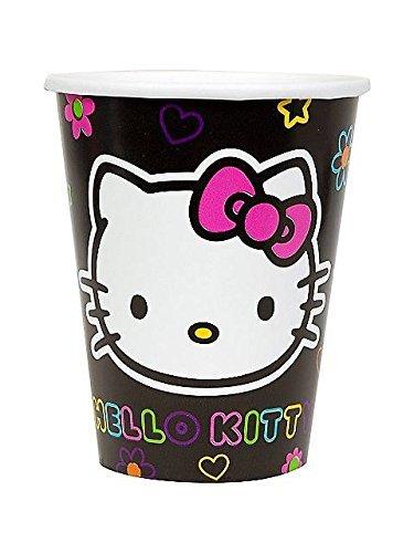 amscan Hello Kitty 'Neon Tween' Paper Cups (8ct) -
