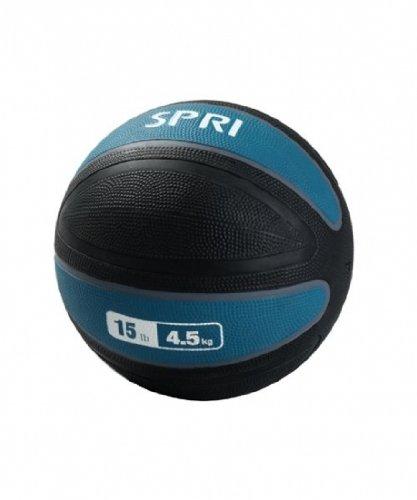 SPRI Xerball Medicine Ball, Teal, 15-Pound