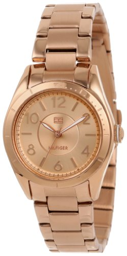 (Tommy Hilfiger Women's 1781279  Casual Sport Rose-Gold 3-Hand Watch)