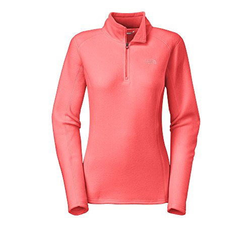 the-north-face-womens-glacier-1-4-zip-small-tropical-coraleeh