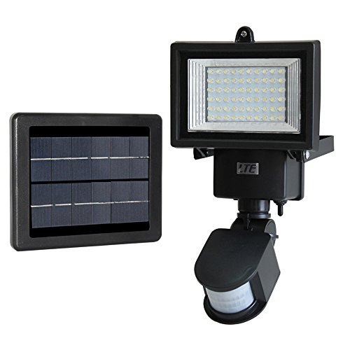 LTE 60 LED Solar Motion Sensor Light, IP65 Waterproof,Outdoo