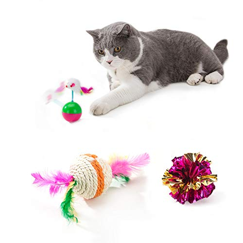 Cat Toys Interactive Kitten Toys 4