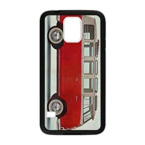 Old Skool VW Camper Van Cell Phone Protector for Samsung Galaxy S5 Plastic and TPU (Laser Technology) by icecream design