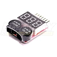 Integy RC Hobby C23212 LiPo Voltage Checker + Warning Buzzer
