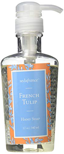 Seda France Classic Toile Liquid Hand Soap, French Tulip, 12 -