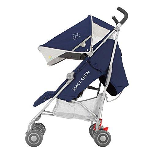 Maclaren Quest Stroller, Medieval Blue/Silver by Maclaren: Amazon.es: Bebé