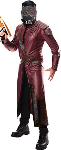 Rubie's Costume Men's Marvel Universe Guardians Of The Galaxy Deluxe Starlord (Spiderman Cosplay For Sale)