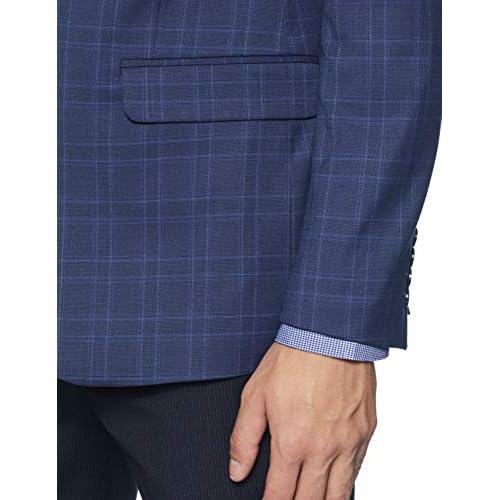 41E1pgmGdUL. SS500  - Van Heusen Men's Notch Lapel Slim fit Blazer