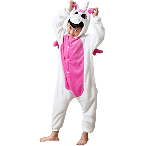 [Rapidev Kids Animal Pajamas Children's Unisex Cosplay Costume Onesie (115/130(height:49.2