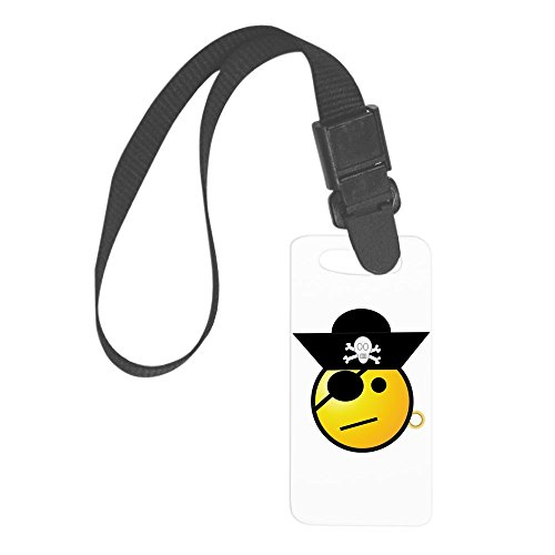 Disney Cruise Deck - Truly Teague Small Luggage Tag Smiley Face Pirate
