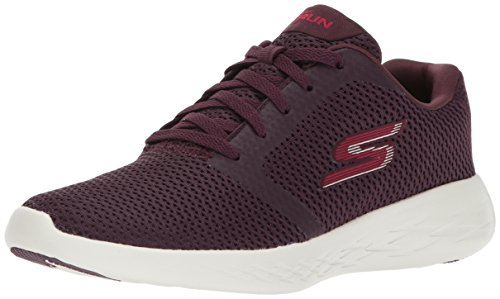 Skechers Performance Women's Go Run 600 Refine, Burgundy, 11 M US