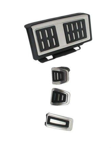 Ormax Stainless Steel Manual Transmission Pedal Set LHD Models for VW Golf MK7 13+ Models