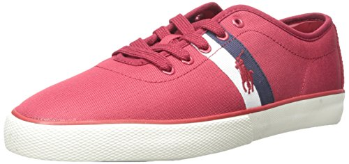 Polo Ralph Lauren Mens Halford Fashion Sneaker Devon Red