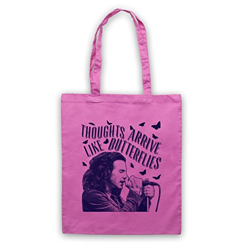 Even Flow Butterflies Arrive Thoughts by Like Jam Tote Unofficial Bag Inspired Pearl Pink wp8IqtSt