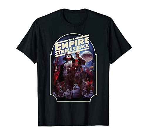 Back Vintage T-shirt - Star Wars The Empire Strikes Back Vintage Poster T-Shirt