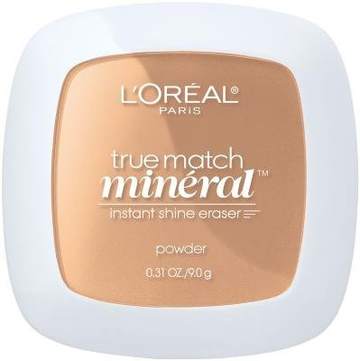 L'Oreal True Match Mineral Pressed Powder - Sun Beige (Pack of 2) by L'Oreal Paris