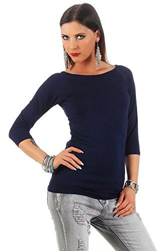 Mellice - Camiseta sin mangas - Básico - para mujer azul marino