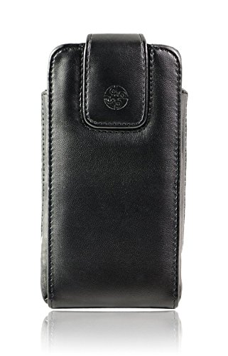 turin i vertical leather case holster with rotating belt clip for samsung galaxy s5  fits s5 by