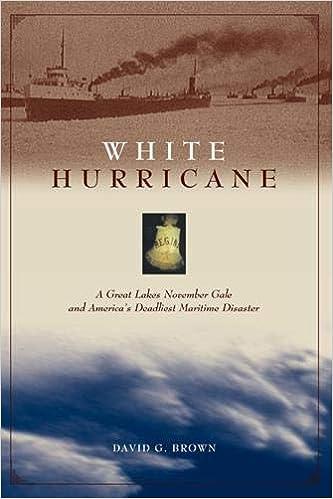 White Hurricane: A Great Lakes November Gale and America's