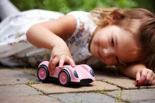 Green Toys Pink Dump Truck W/Pink Racecar