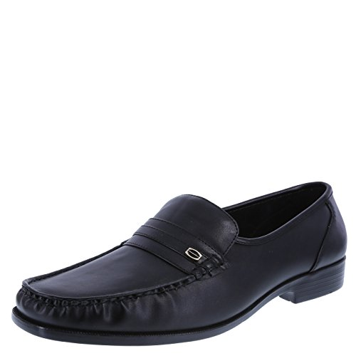 Dexter Leather Heels - Dexter Men's Black Men's Faxon Slip-On 8.5 Wide