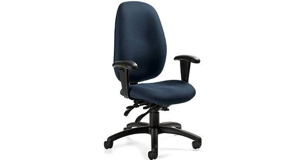 Amazon.com: Global 3140 – 3 Malaga silla de oficina de ...