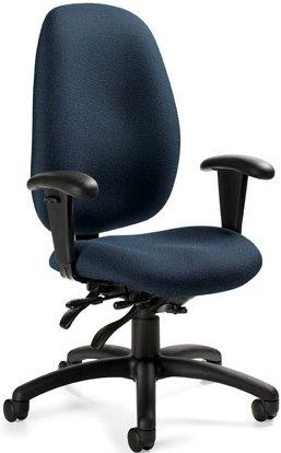 Amazon.com: Global 3140-3 Malaga Executive Office Chair ...