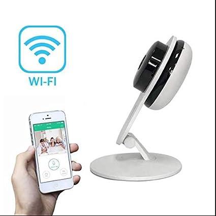Cámara ip wifi inalámbrica,Instalar Fácil,2-Vias Audio Cámara de Seguridad mascotas