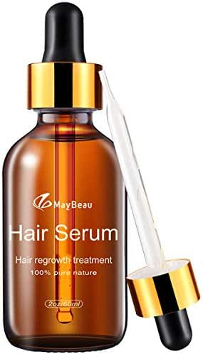 Hair Growth Oil MayBeau Hair Growth Treatment for Women Men With Thinning Hair Loss Serum for Healthier, Thicker, Longer Hair
