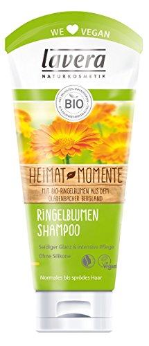 lavera Ringelblumen-Shampoo - Haarpflege für normales bis sprödes Haar 2er Pack (2 x 0.2 l)