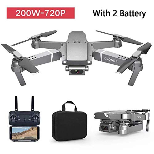 E68 Foldable Drone with 4K Camera for adults and beginners,WiFi FPV RC Quadcopter,One Button Return Home, Live Video…