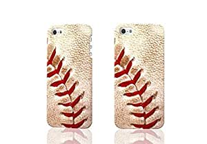 Baseball 3D Rough Case Skin, fashion design image custom , durable hard 3D case cover for iPhone 5C , Case New Design By Codystore