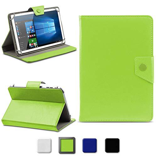 NAmobile Tablet Hülle kompatibel für Odys Thanos 10 Tasche Schutzhülle Cover Schutz Magnet Case 10.1 Zoll, Farben:Grün