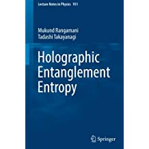 Holographic Entanglement Entropy