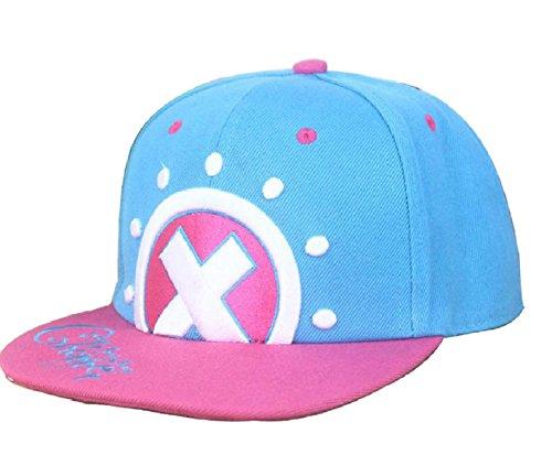 Anime One Piece Cosplay Canvas Snapback Cap Hip Hop Baseball Sports Hat (Tony Tony Chopper)