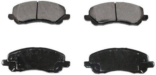DuraGo BP866 MS Front Semi-Metallic Brake