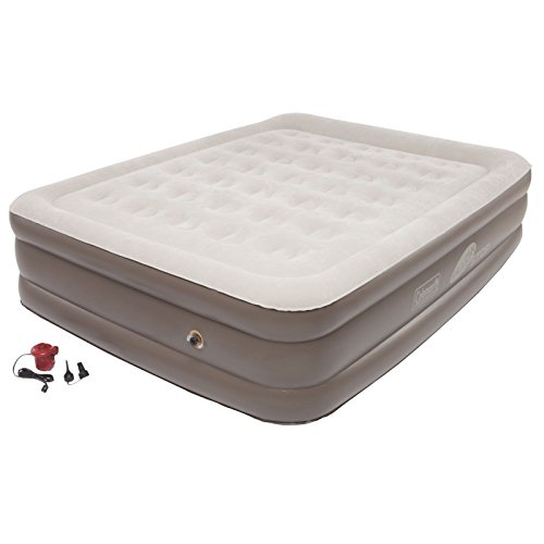 queen inflatable mattress coleman - 6
