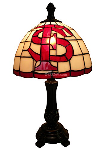 TiffanyFactory 9SUSFSUT587C Florida State Seminoles Tiffany Stained Glass Table Lamp