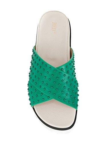 Red Valentino Verde Sandali Donna Pelle Pq2s0a21fmscc5 OCaAqw