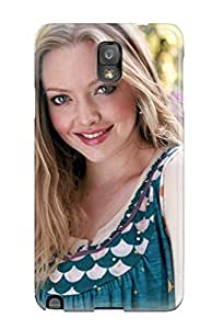 New Design Shatterproof Case For Galaxy Note 3 (hollywood Actress Amanda Seyfried)