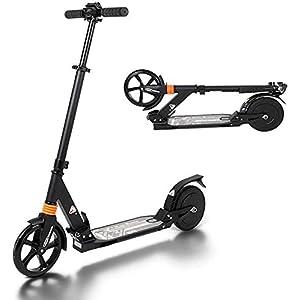 41E1wJ4wtQL. SS300 MUXIN Monopattino Elettrico Scooter Pieghevole per Adulti, 8 inch, Batteria per E-Roller 2.5Ah di 9 km,Motore da 200 W, velocità Massima 18Km/H,Facile da Piegare E Trasportare,per Adulti E Bambini