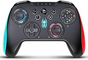 Pro コントローラー for Switch,TOYEN ワイヤレス Nintendo Switch用スイッチコントローラーゲームパッドジョイパッド,PCAndroidタブレットに適用ワイヤレス接続