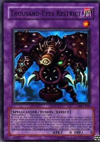 Yu-Gi-Oh! - Thousand-Eyes Restrict (DL1-001) - Duelist League Prize Card - Limited Edition - Super Rare