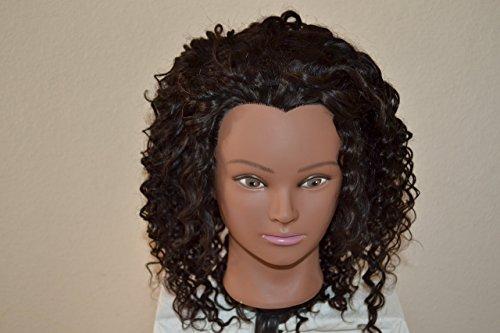 Handmade Wig - Brazilian HalfWig Deep Wave 8A Natural Color 14-14-14 by Chezlilika