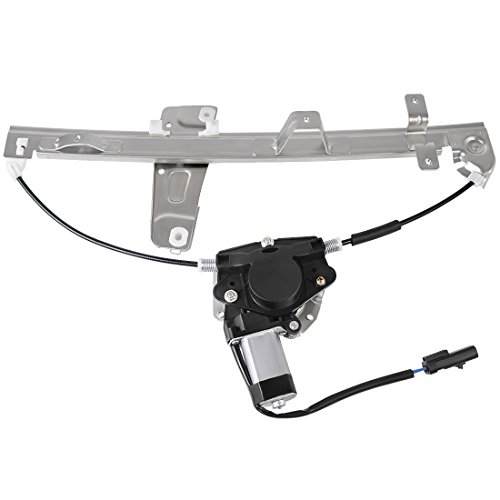 Power Window Regulator Motor Assembly for Jeep Grand Cherokee 2000 2001 2002 2003 2004, Front Left Driver Side. - Left Window Motor Regulator